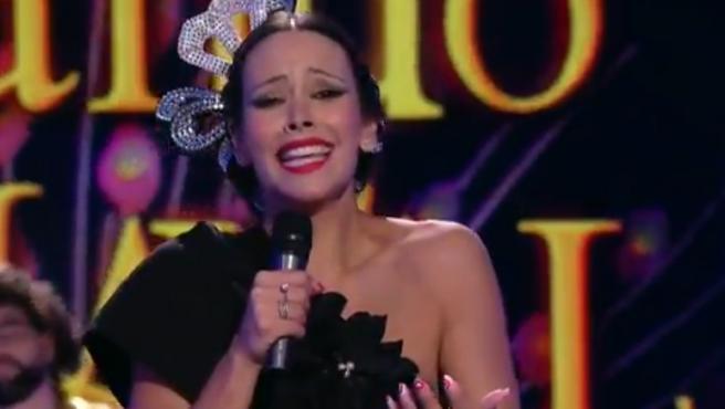 Cristina Pedroche disfrazada de Isabel Pantoja.