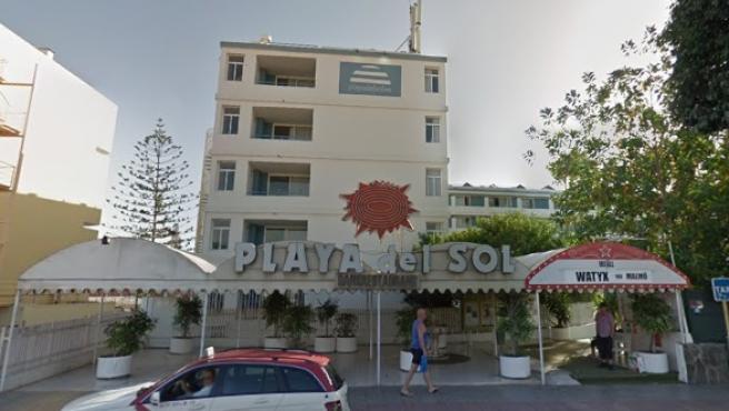 Hotel Playa del Sol en Gran Canaria.