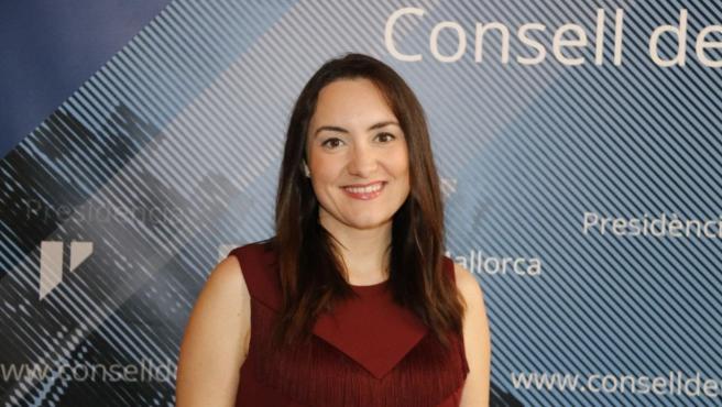 La portavoz de Cs en el Consell, Beatriz Camiña. Archivo.