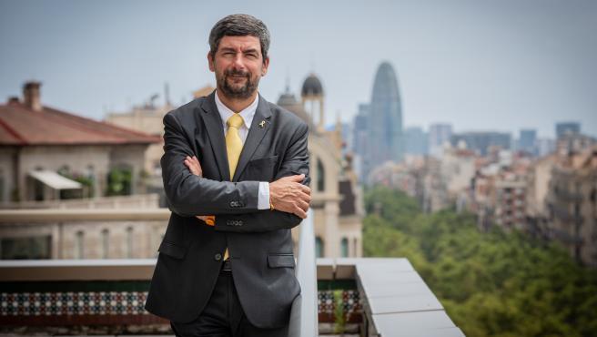 El expresidente de la Cámara de Comercio de Barcelona y número tres de JxCat, Joan Canadell.
