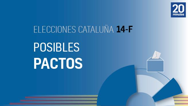 Pactos electorales en Cataluña.