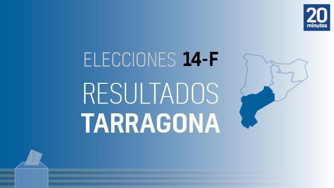 Resultados de las elecciones de Cataluña 2021 en Tarragona y municipios