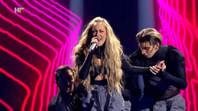 Albina representa a Croacia en Eurovisión 2021.