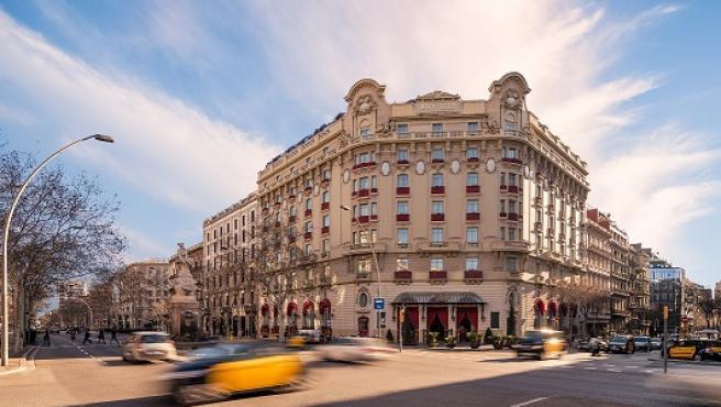 Fachada del hotel Palace Barcelona