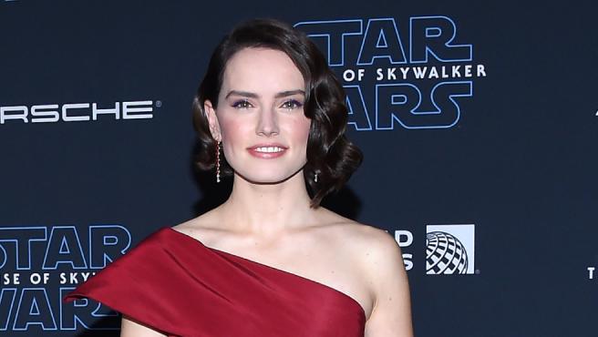 Daisy Ridley en la promoción de 'El ascenso de Skywalker'
