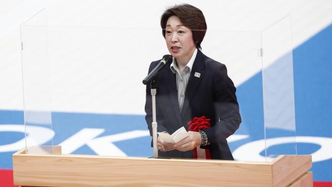 Seiko Hashimoto, exministra de deportes y presidenta del comité organizador de Tokio 2020