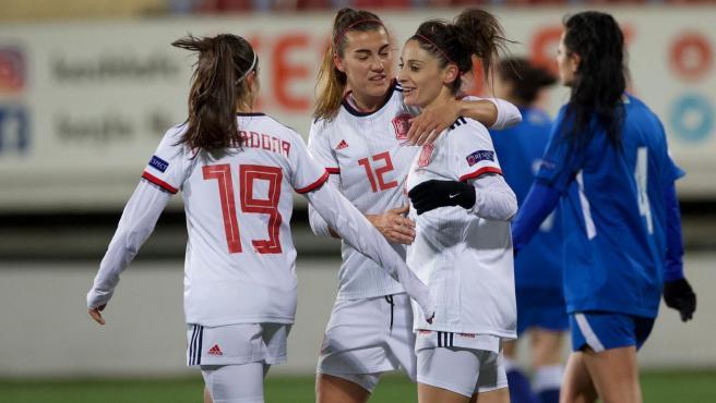 La Selección española femenina sella su pase a la Eurocopa de 2022.