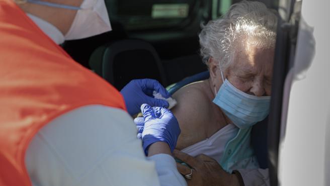 Adelante reclama a la Junta la vacunación de los mayores de 80 en sus municipios de residencia