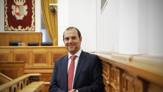 Archivo - El presidente de las Cortes de C-LM, Pablo Bellido.