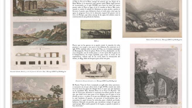 Documento que se muestra en la sala Pintores 10 de Cáceres