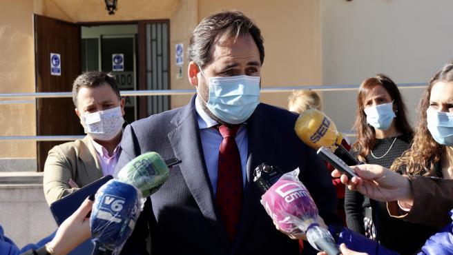 El presidente del PP de C-LM, Paco Núñez, en Albacete