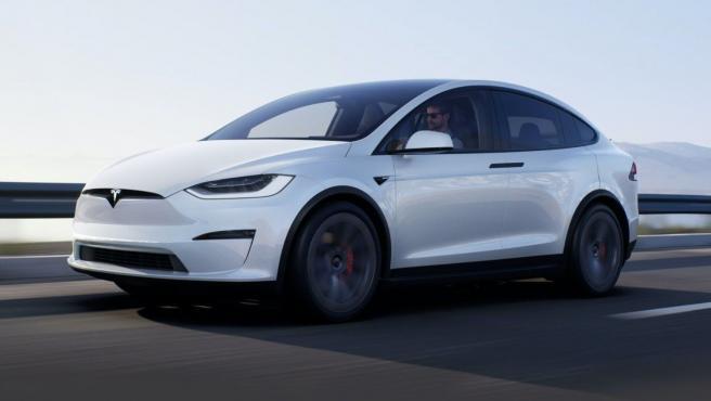Tesla Model X Plaid.