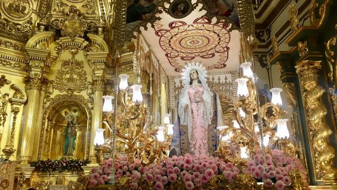 Archivo - Una imagen de la Semana Santa de Lorca