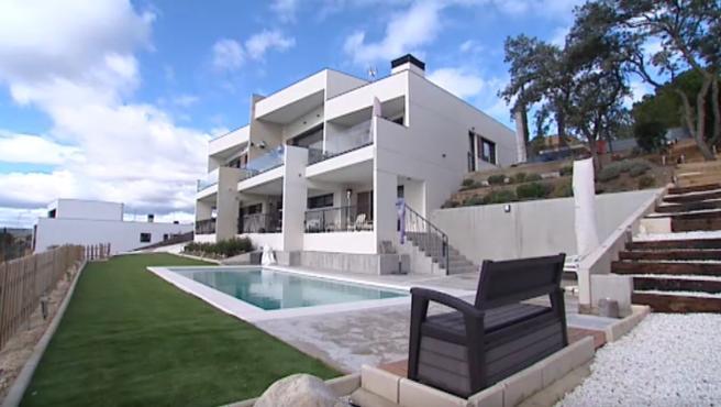 Casa modular prefabricada.