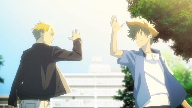 Matt y Tai en 'Digimon Adventure: Last Evolution Kizuna'