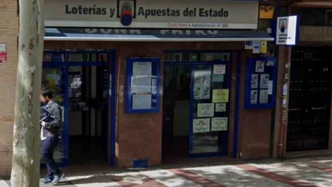 Administración de Loterías de la calle Alcalá de Madrid.