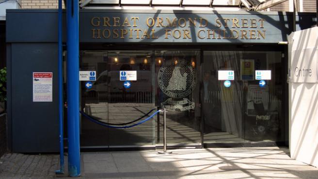 Entrada principal del Great Ormond Street .Hospital