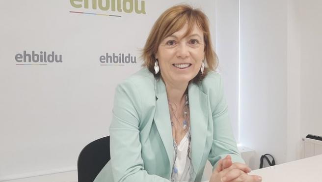 """Dimite Miren Larrión y EH Bildu acepta la renuncia por """"unos hechos de ámbito personal"""" que vulneran el código ético"""