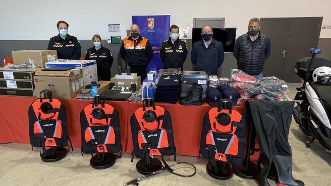 El Ayuntamiento de Antequera informa de equipamiento para Protección Civil