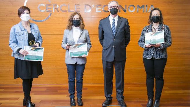 El Premi Ensenyament galardona a centros de Jesús (Tarragona), Barcelona e Igualada (Barcelona)