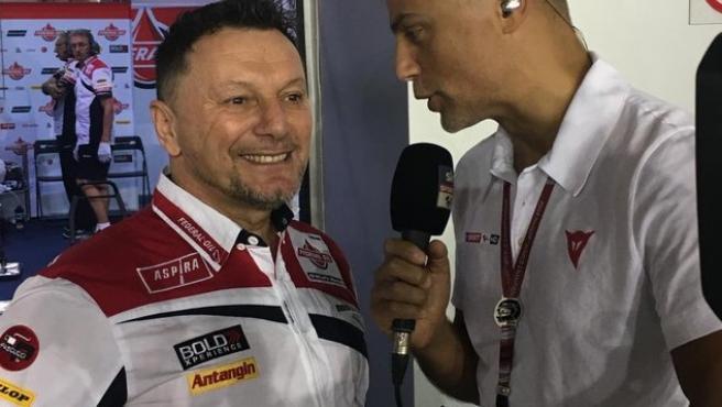 Fausto Gresini, en una entrevista.