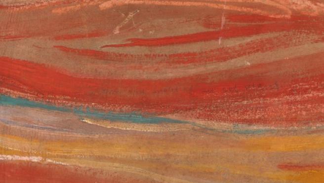Inscripción oculta en 'El Grito' de Munch.