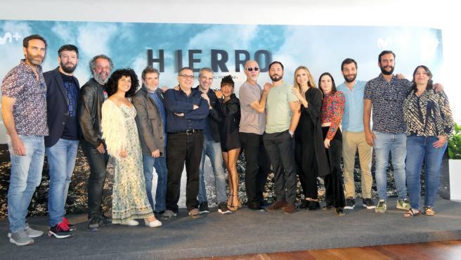 El Hierro se promociona en Movistar+ con motivo de la segunda temporada de 'Hierro'