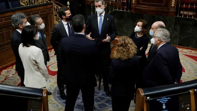 Acto por el 40 aniversario del 23-F en el Congreso de los Diputados