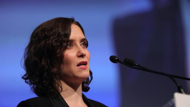 Archivo - La presidenta de la Comunidad de Madrid, Isabel Díaz Ayuso. Archivo.