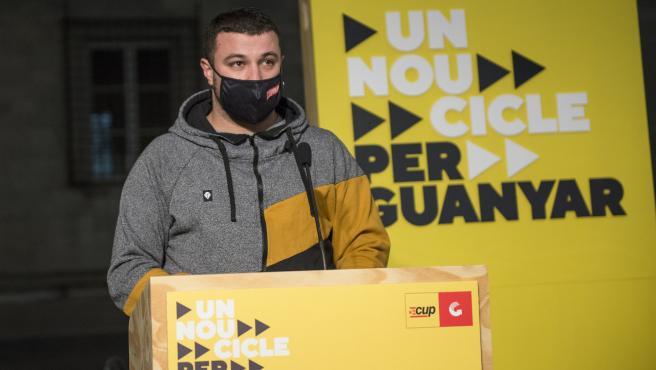 El número dos de la candidatura por Tarragona, Edgar Fernández, en una imagen de archivo