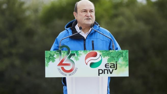 El presidente del EBB del PNV, Andoni Ortuzar