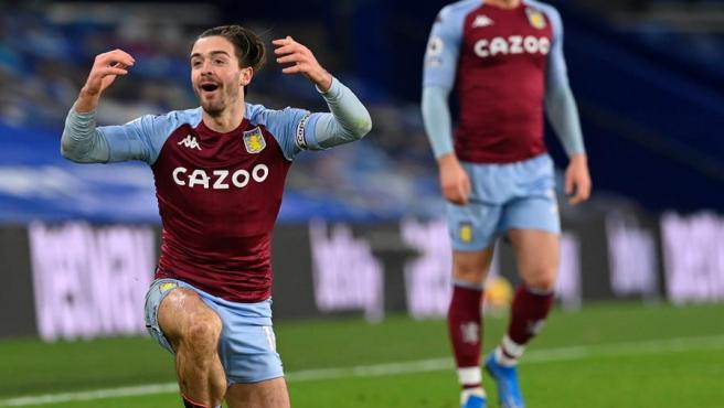 Jack Grealish, Aston Villa player.