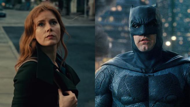 Lois Lane (Amy Adams) y Bruce Wayne (Ben Affleck) en 'Liga de la Justicia'