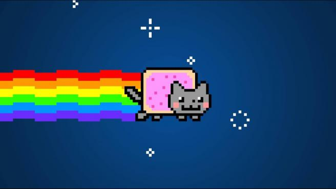 Meme de Nyan Cat.