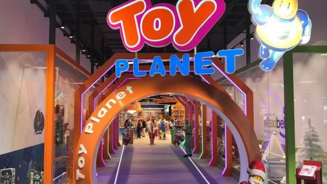 Una tienda de juguetes de Toy Planet