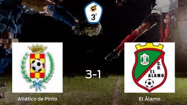 3-1: El Atlético de Pinto se impone a El Álamo en casa