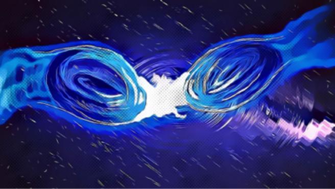 Investigan si una fusión de estrellas de bosones causó la colisión de agujeros negros más masiva jamás observada