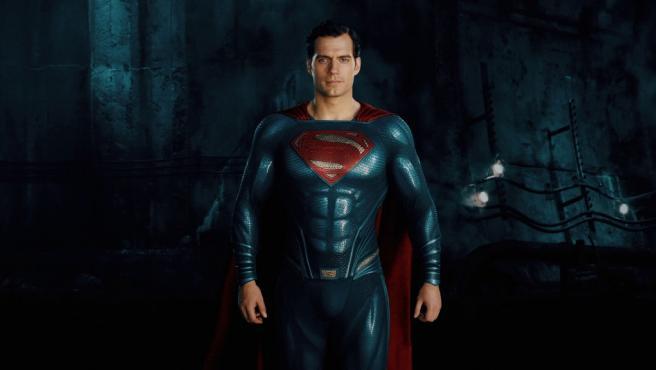 Henry Cavill como Superman en 'Liga de la Justicia'.