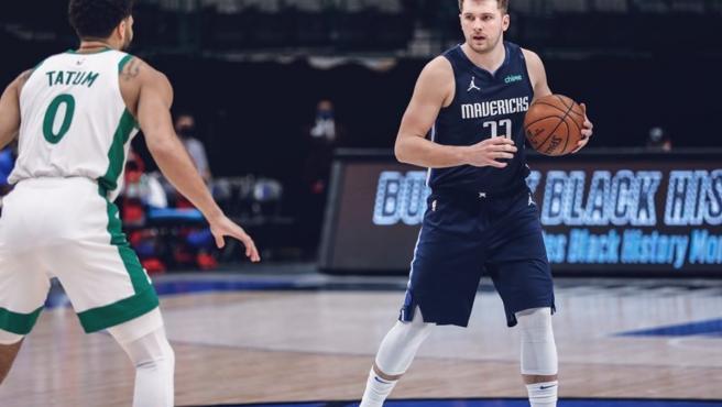 Luka Doncic, jugador de los Dallas Mavericks.