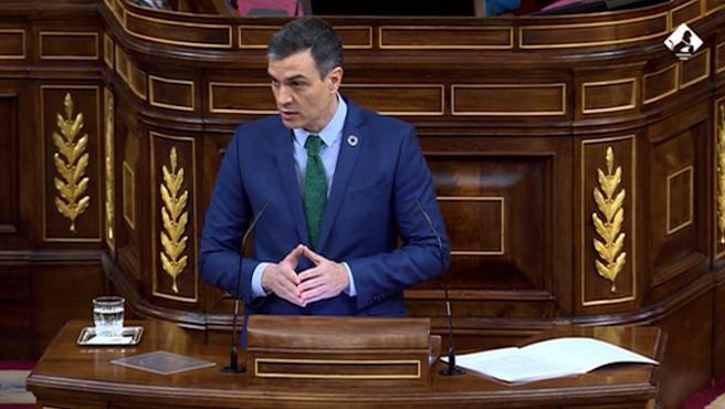 Sánchez da cuenta de su gestión y del estado de alarma en el Congreso