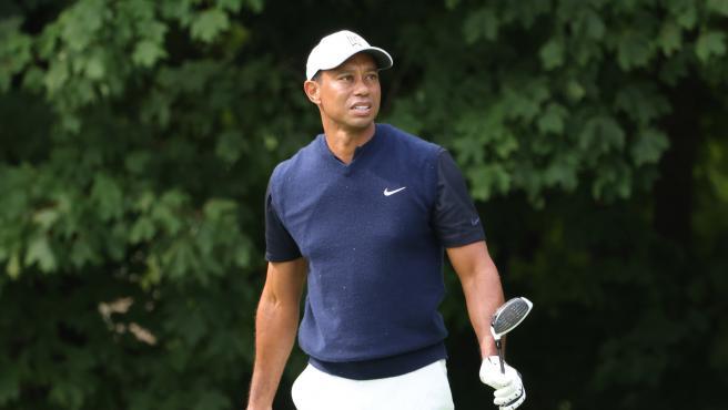 El golfista Tiger Woods.