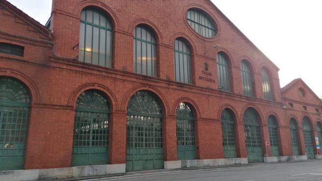 Archivo - Fabrica de Armas de Trubia. Industria. Trabajadores industria. Empleo. Sector industrial.