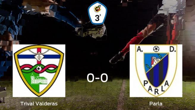 El Trival Valderas y el Parla concluyen su enfrentamiento en La Canaleja sin goles (0-0)