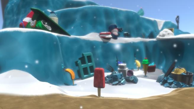 El videojuego 'Frozen Out', creado por cinco graduados de la UPV, gana el Premio Especial Compromiso PlayStation