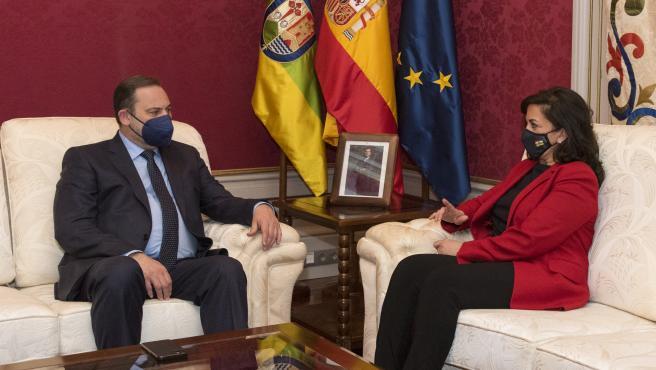 Ábalos asegura que el éxito del PSOE en elecciones catalanas fue al entendimiento y al diálogo frente al unilateralismo