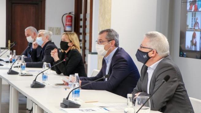 Representantes forales en el Plenario para aprobar el plan de gestión de Etorkizuna Eraikiz