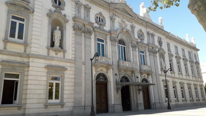 Archivo - Fachada del Tribunal Supremo