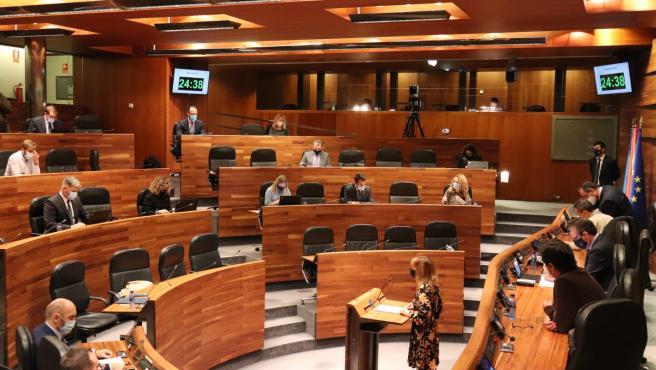 Archivo - Pleno de la Junta General.