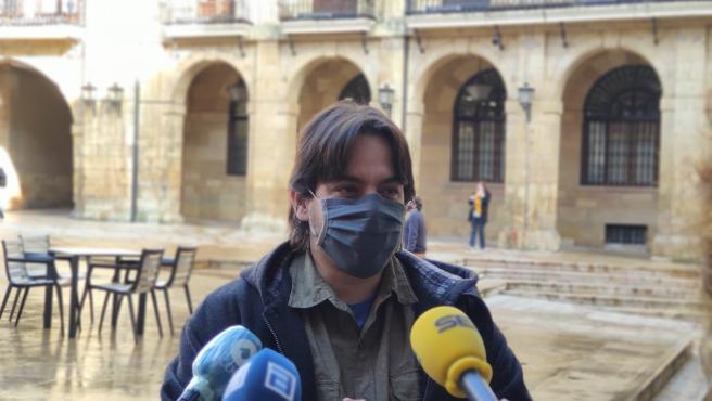 El concejal de Somos Oviedo, Ignacio Fernández del Páramo