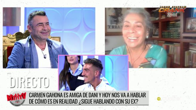 Jorge Javier Vázquez, Carmen Gahona y Dani en 'MyHyV'.